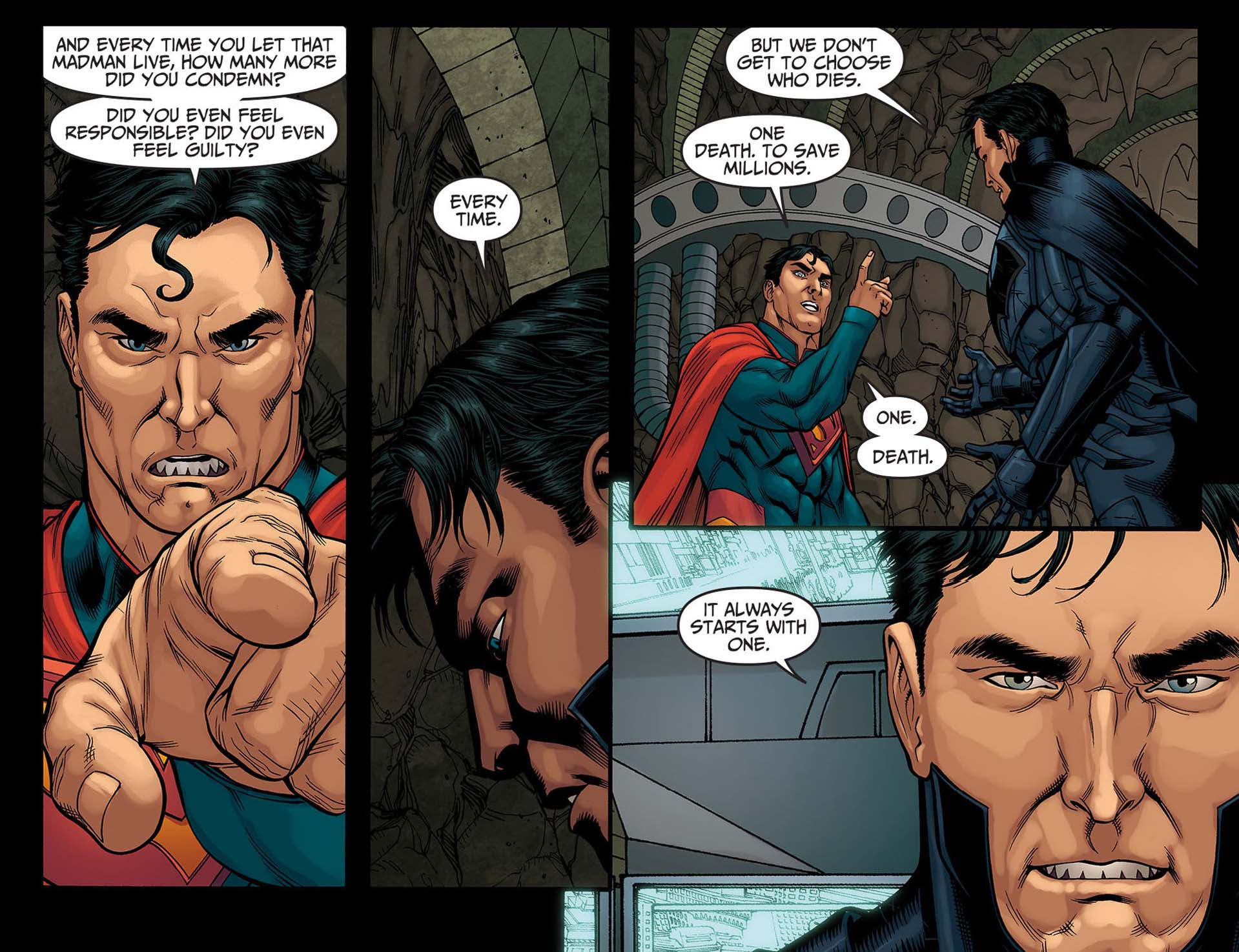 Superman i did and every time you let that madman live how many