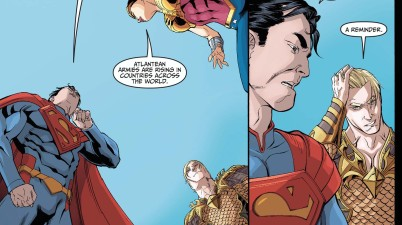 Aquaman Challenges Superman