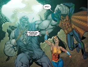 solomon grundy vs wonder woman