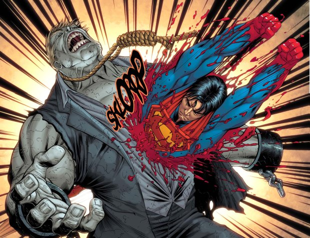 superman against undead 3