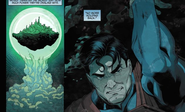 How Superman Forced Aquaman To Surrender