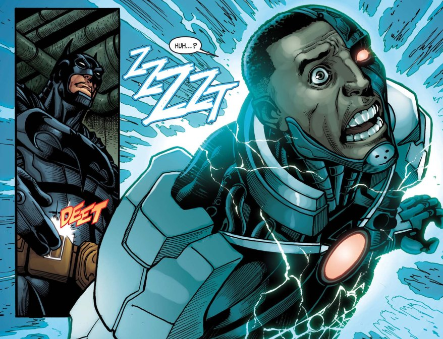 taking down cyborg 2