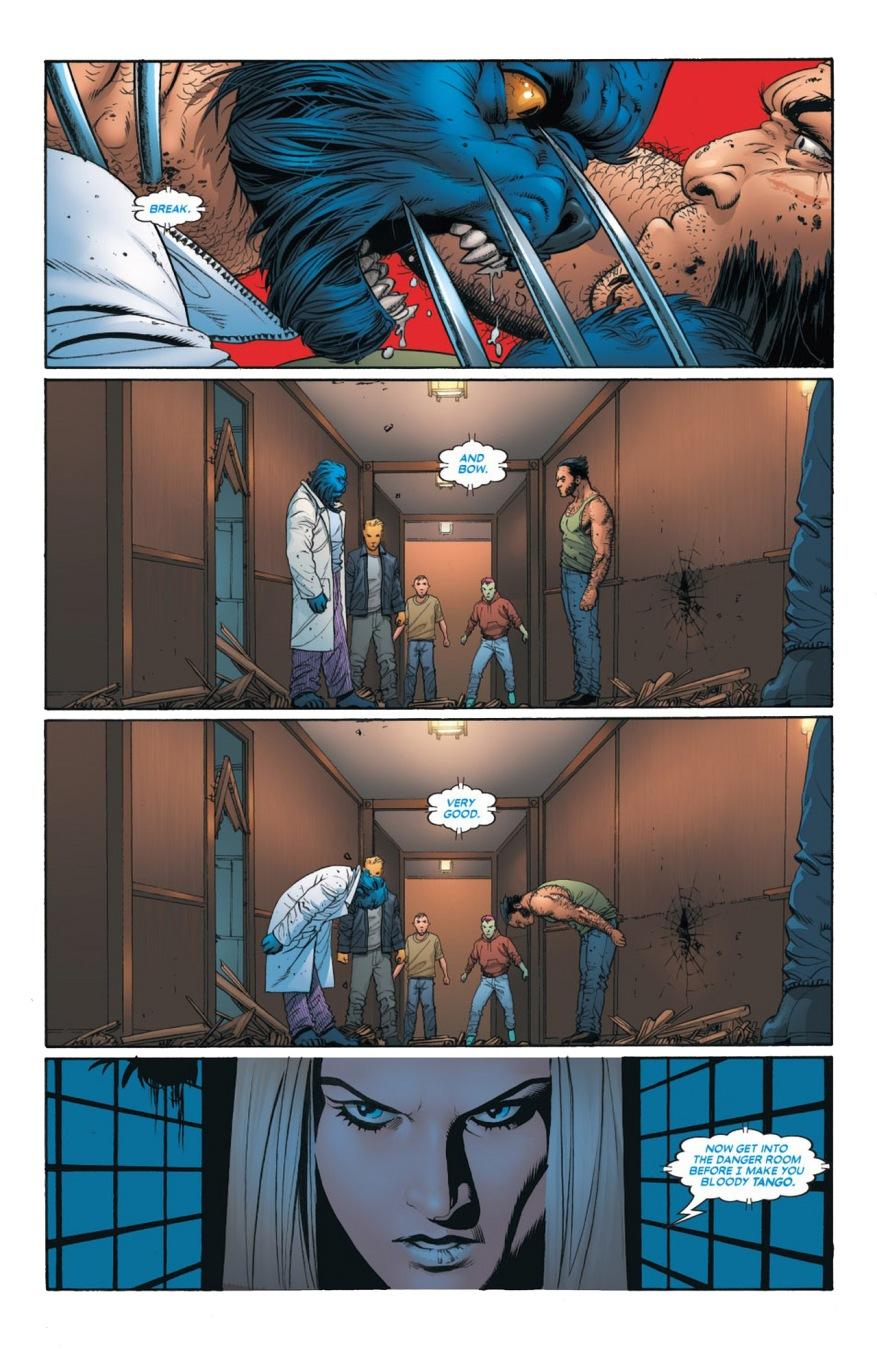 Wolverine VS Beast (Astonishing X-Men)