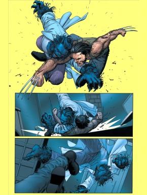 wolverine vs beast