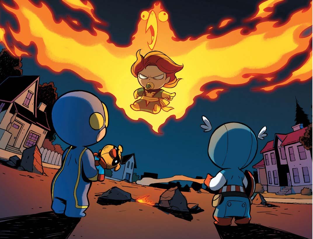 X 23 Gambit Baby Phoenix   Comicne...