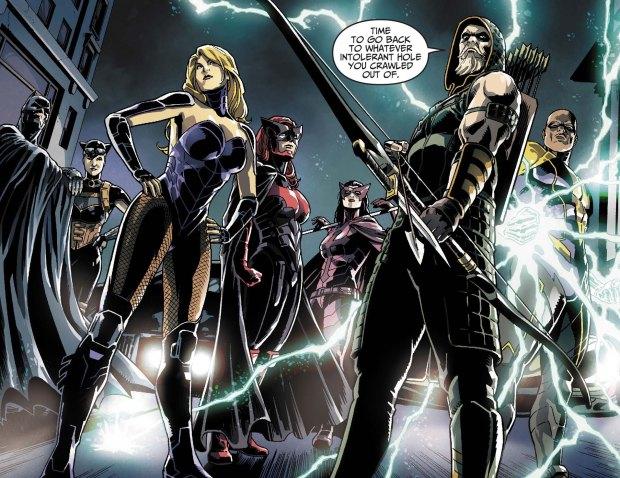batman's team