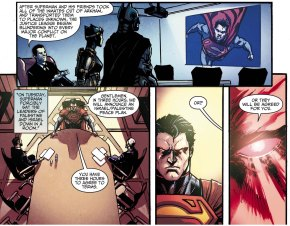 how superman fixed israel-palestine conflict