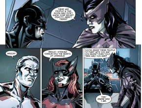 Huntress Slips Batman's Name