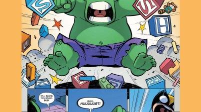 baby wolverine vs baby hulk