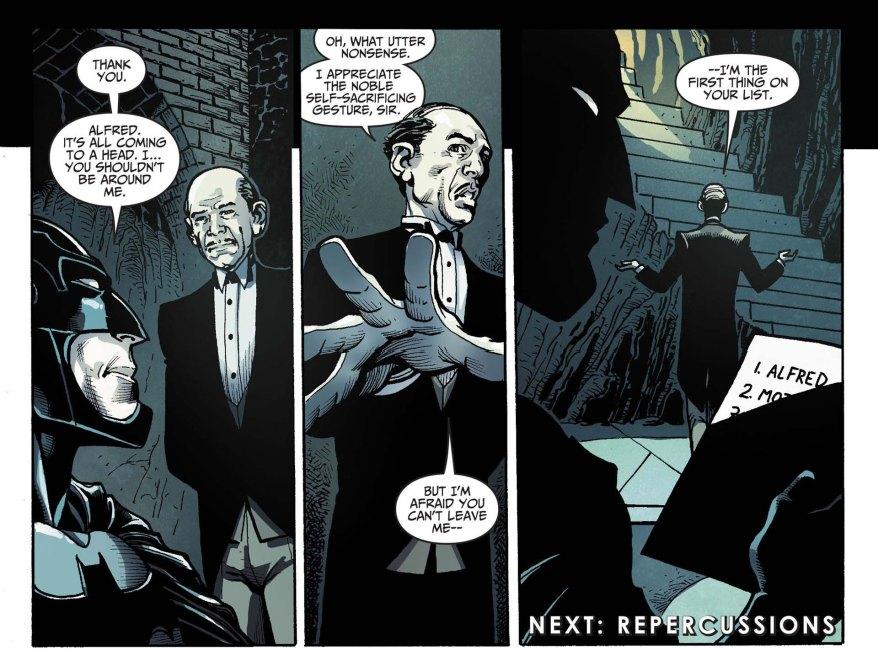 Batman's bugout list 2