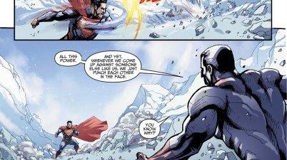 captain atom on fighting