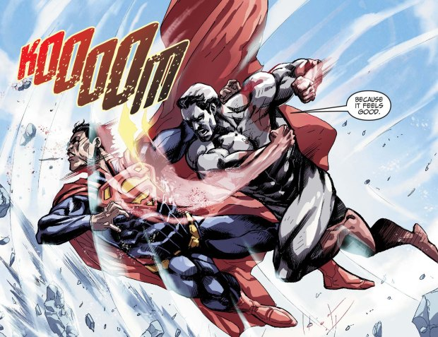 captain atom on fighting 3