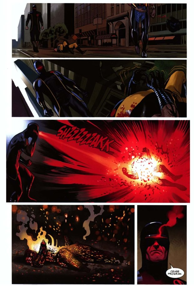 cyclop's wolverine contingency plan 4