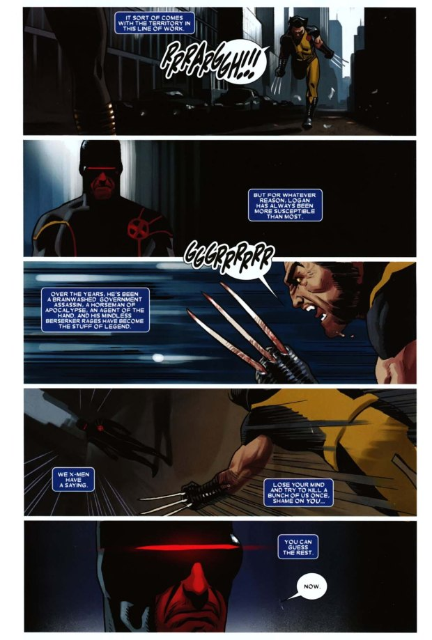 cyclop's wolverine contingency plan