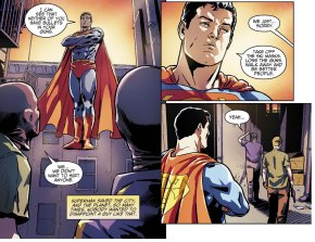 disappoint superman