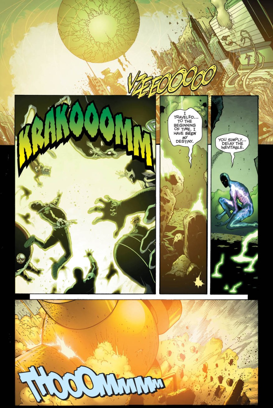 Sinestro VS Volthoom (Wrath Of The First Lantern)