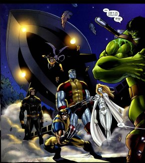 The Hulk VS Astonishing X-men