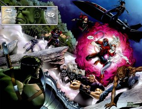 uncanny-xmen and x-factor vs the hulk