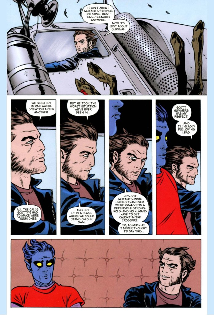 wolverine respects cyclops
