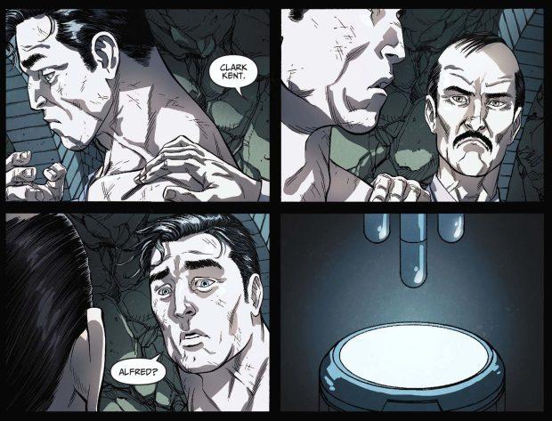 alfred pennyworth vs superman