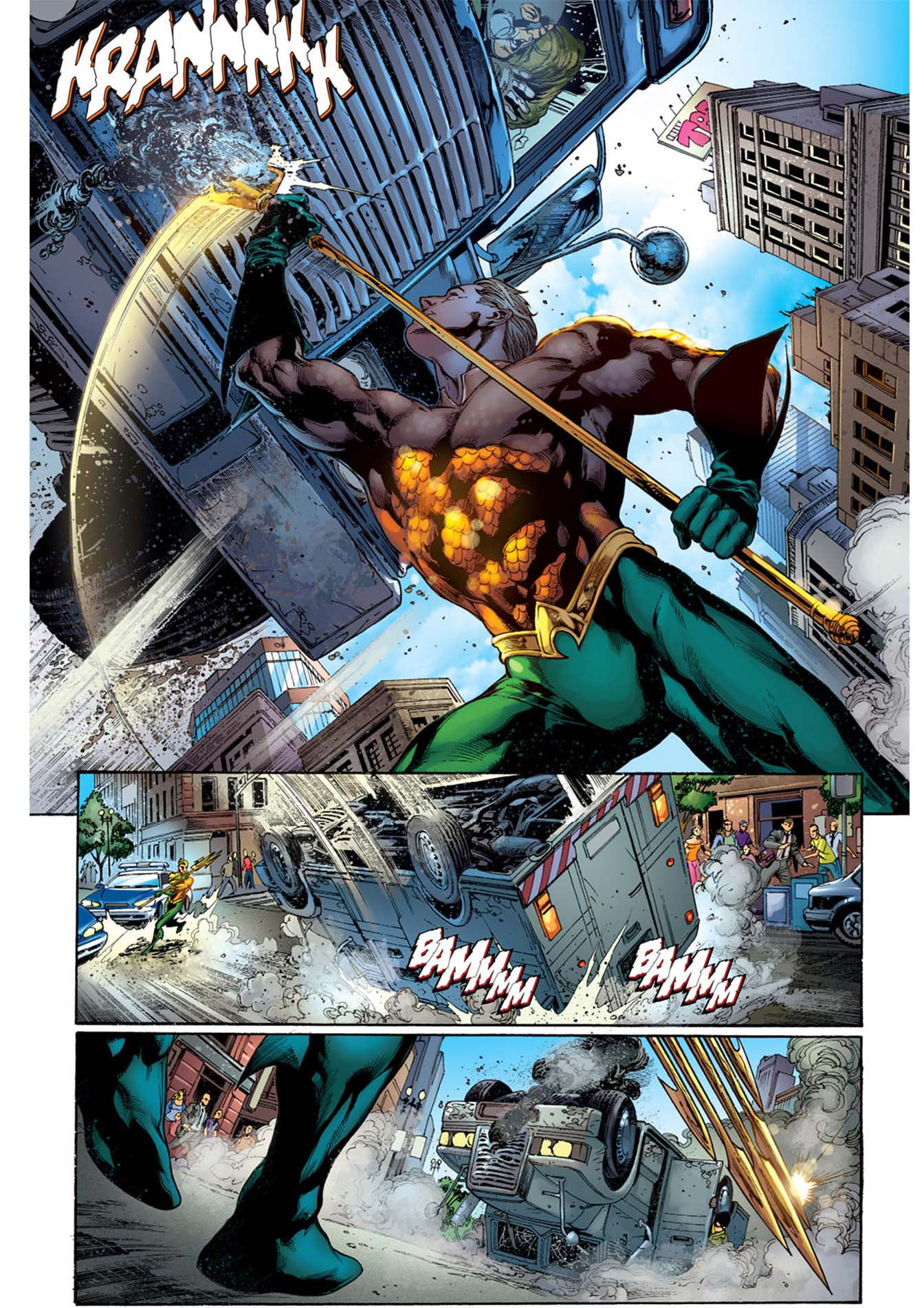 Aquaman Can Stop Crime On Land   Comicnewbies