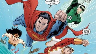 supermans team injustice