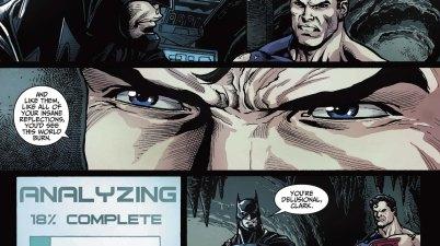 superman thinks batman is crazy