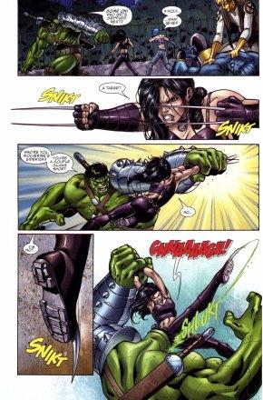 x-23 vs the hulk