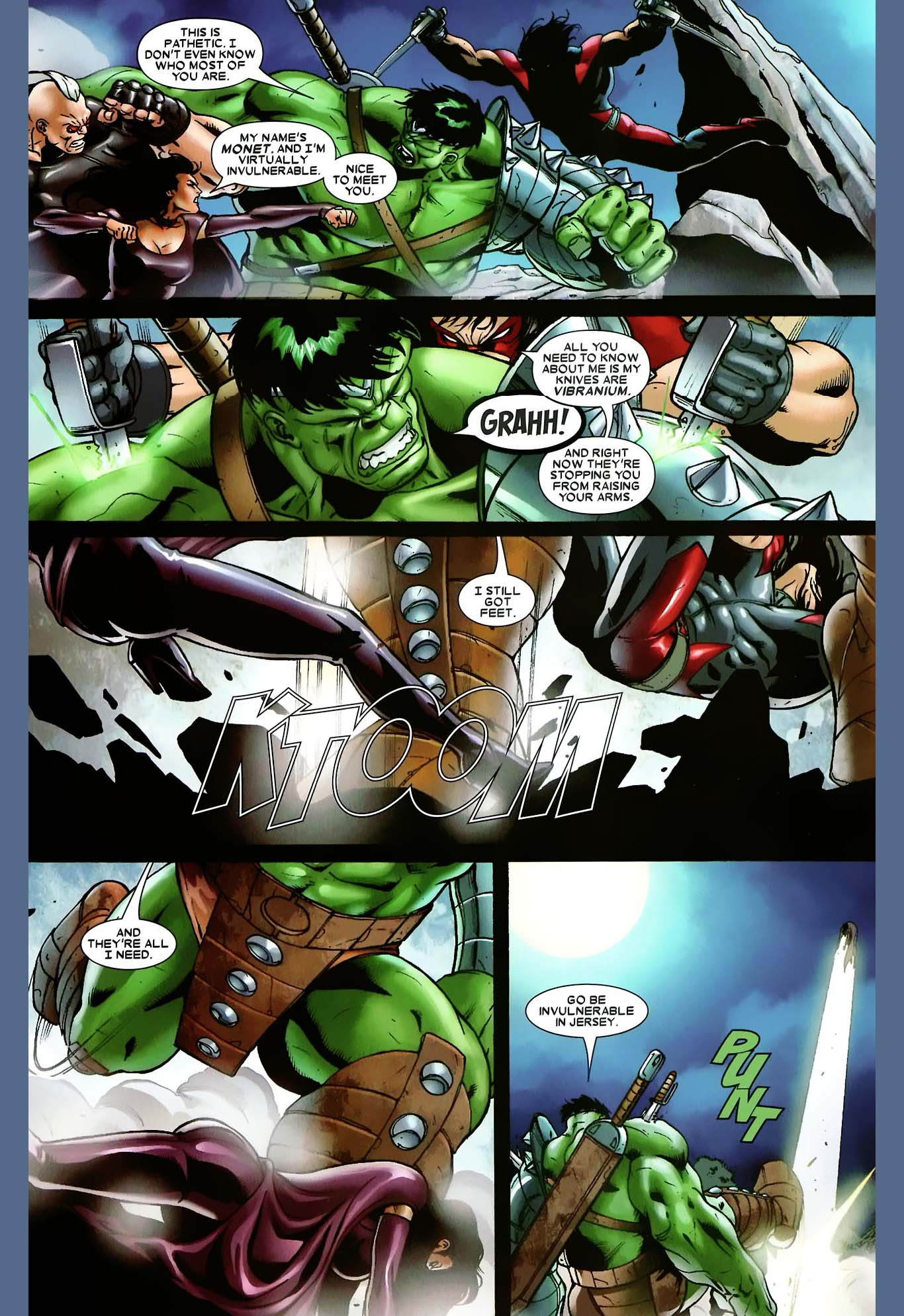 x factor vs the hulk comicnewbies