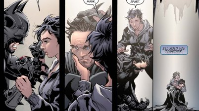 how batman mourned nightwing 2