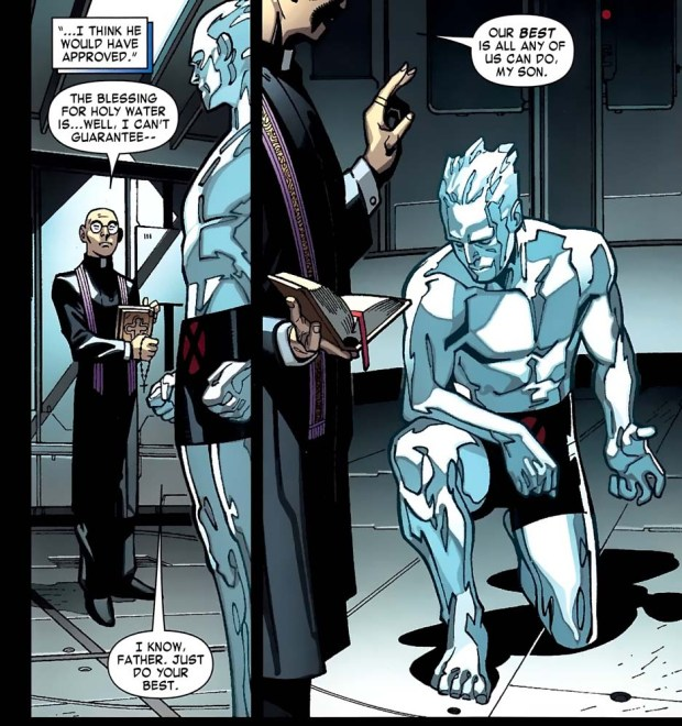 How Iceman Can Kill Vampires