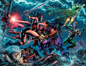 martian manhunter vs the justice league