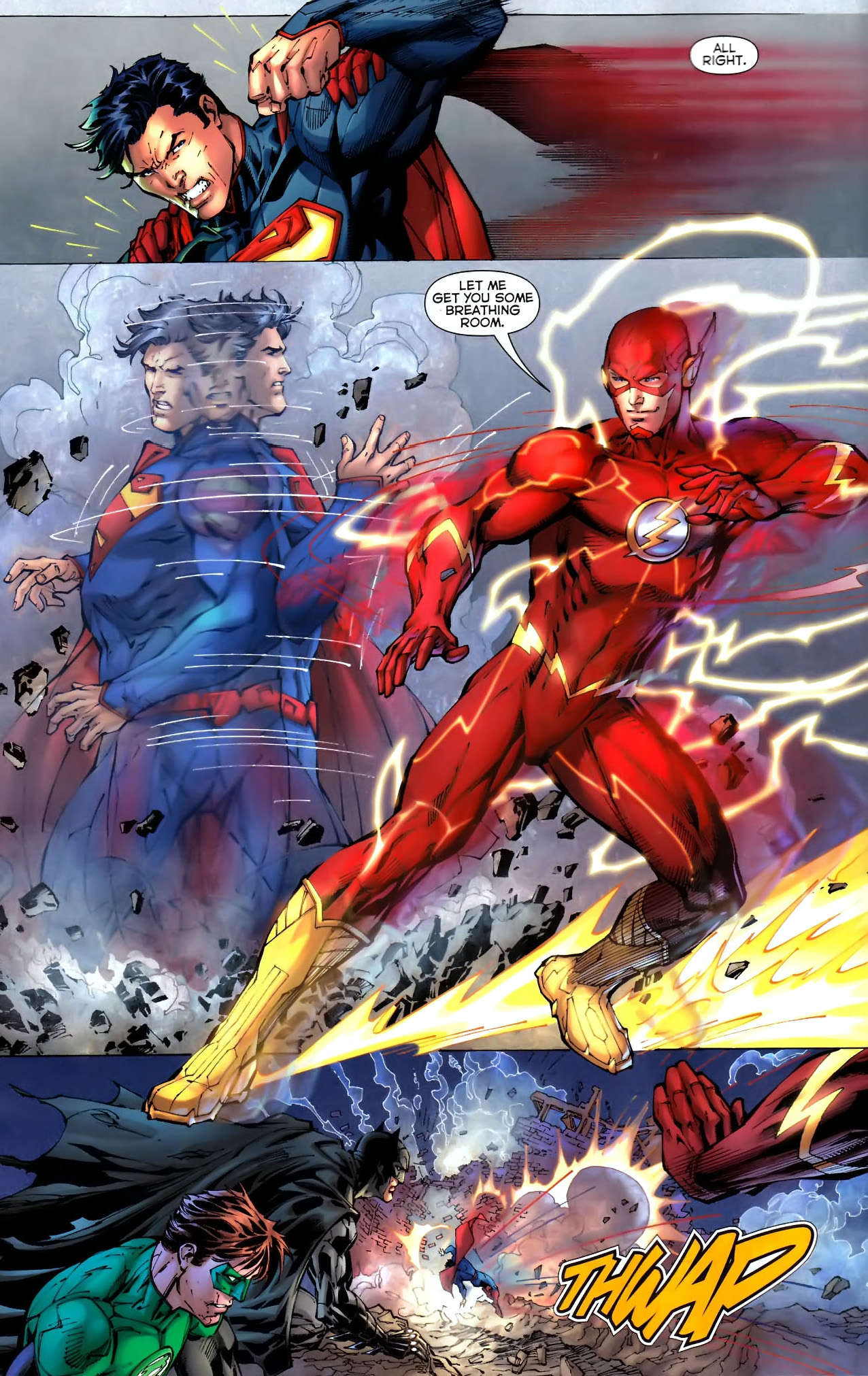 52 Photos 37 Reviews: Superman And The Flash's First Meeting (New 52)