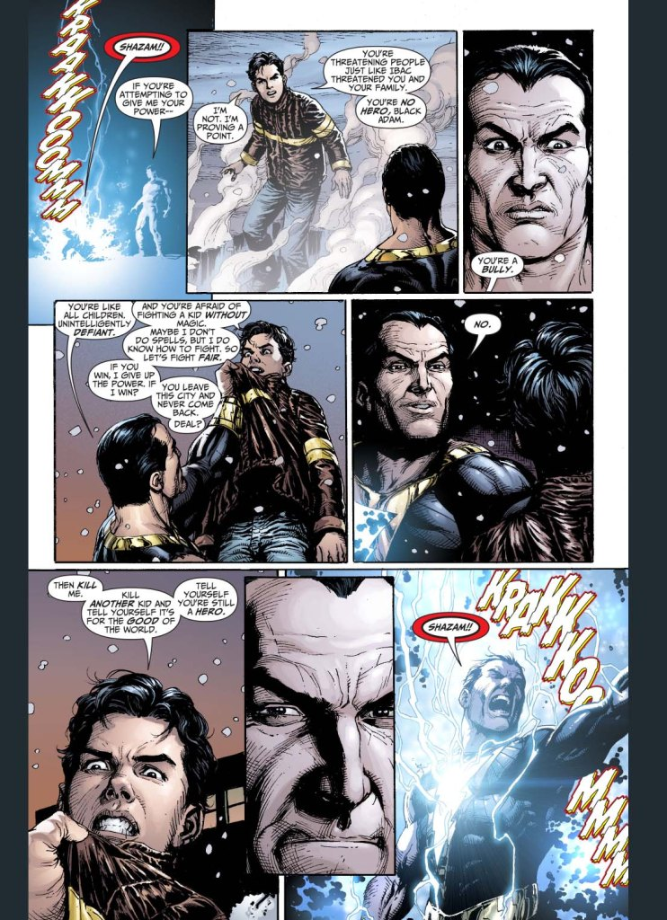 black adam always lost this way