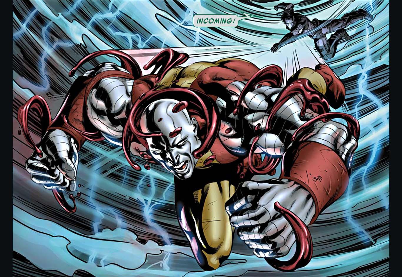 Juggerlossus VS Sentinels – Comicnewbies