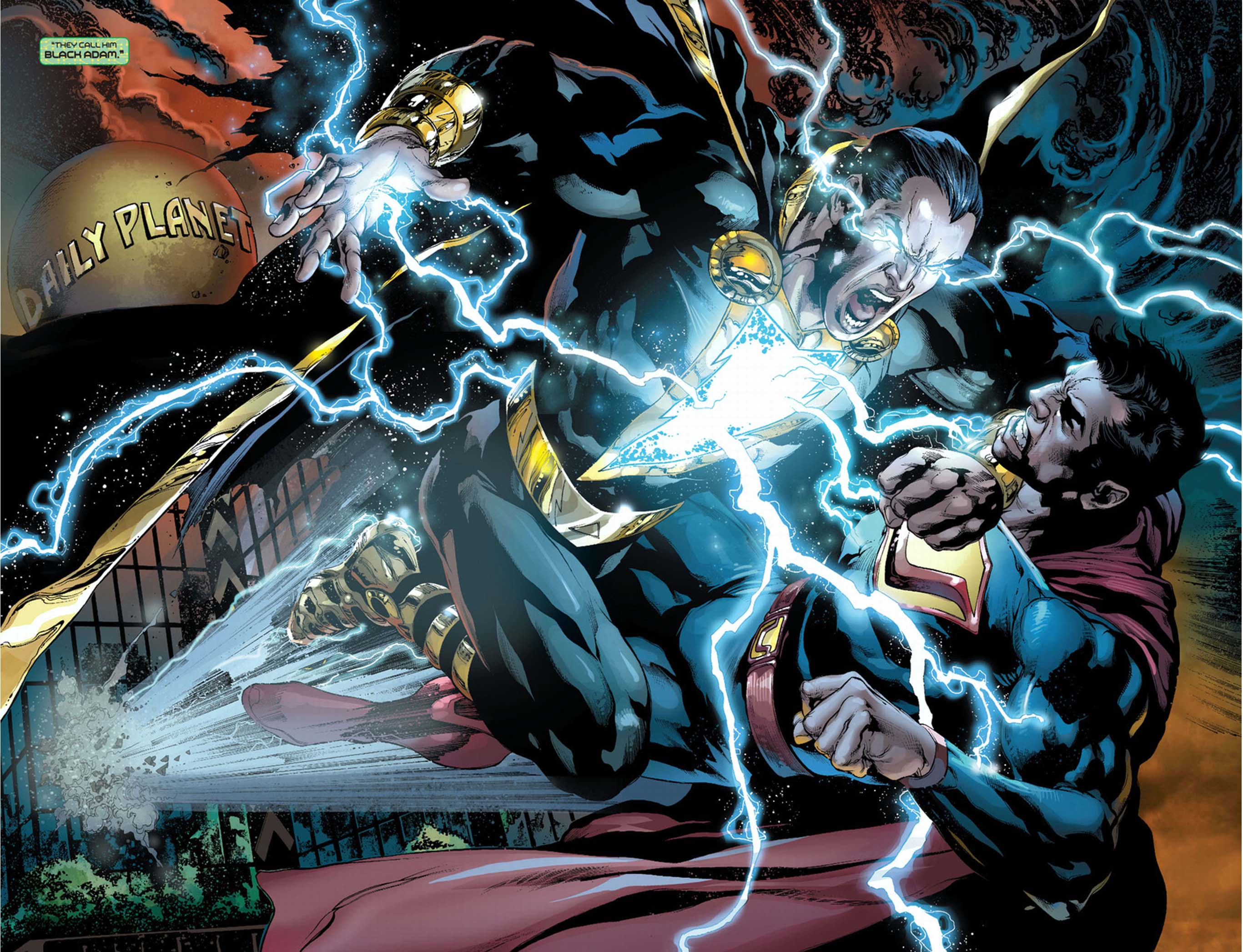 ultraman vs black adam. – Justice League