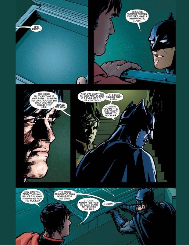 why batman is afraid of wonder woman 2