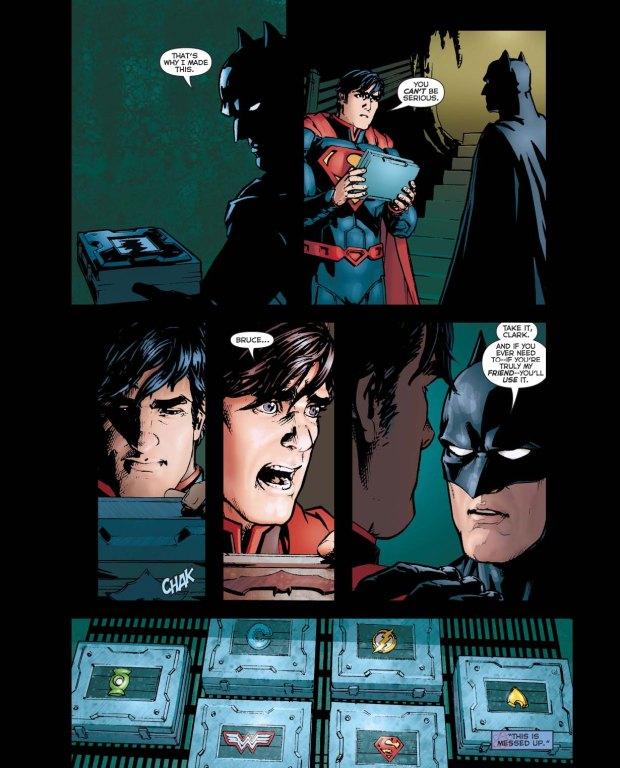 why batman is afraid of wonder woman 3