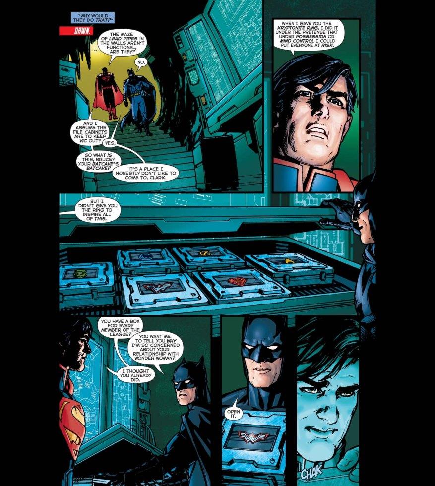 why batman is afraid of wonder woman
