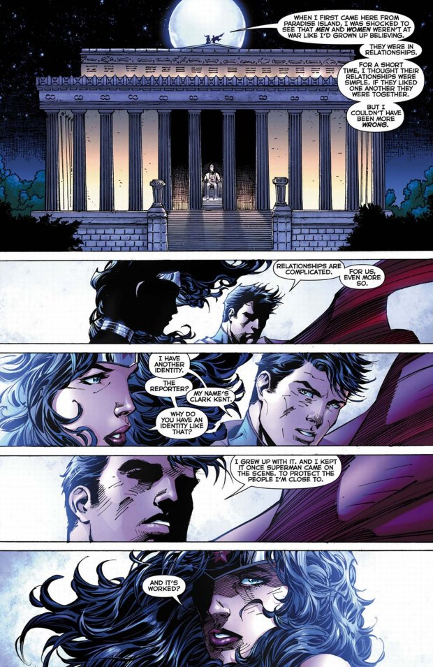 why superman and wonder woman are together