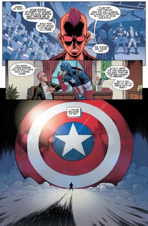 captain america's psychic defense