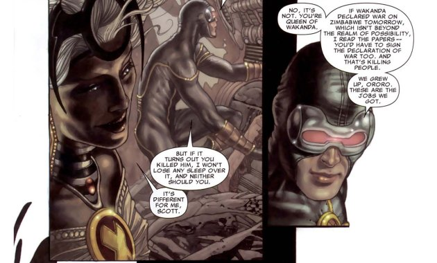 Cyclops and Storm Discuss Killing 2