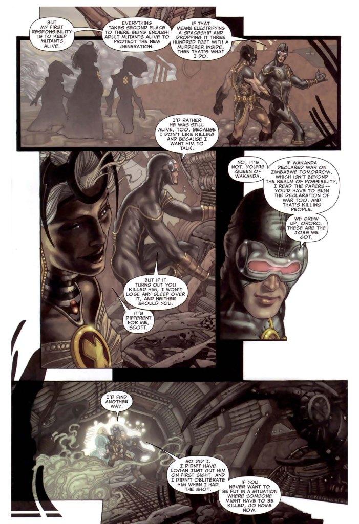 Cyclops and Storm Discuss Killing 2