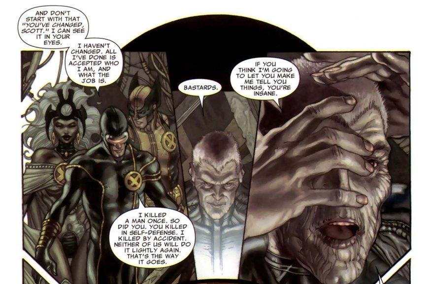 Cyclops and Storm Discuss Killing 3