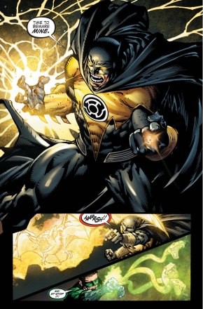 batman with sinestro ring
