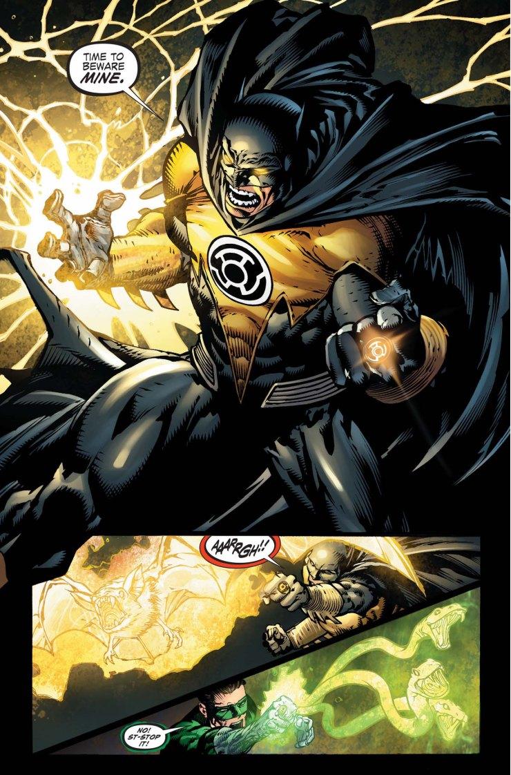Image result for batman sinestro corps