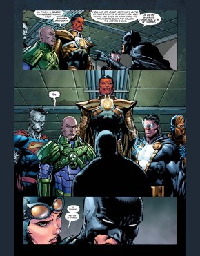 batman's always in charge