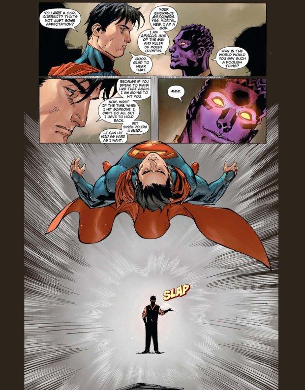 superman meets apollo 3