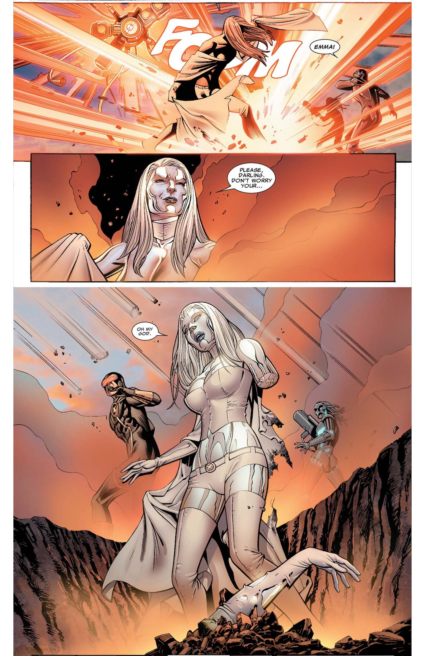 Emma Frost S Secondary Mutation Comicnewbies