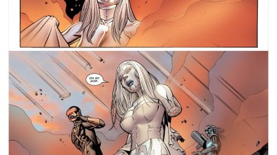 Emma Frost Losing An Arm